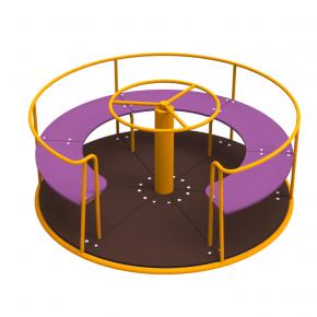 Карусель Kidigo Circle 1,6х1,6х0,75 м - изображение 4 - интернет-магазин tricolor.com.ua