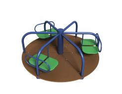 Карусель Kidigo Три лепестка 1,6х1,6х0,68 м - интернет-магазин tricolor.com.ua