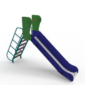 Горка Kidigo Ласточка 2,8х0,59х1,66 м, высота спуска 0,9 м - интернет-магазин tricolor.com.ua