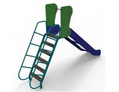 Горка Kidigo Ласточка 3,6х0,59х2,26 м, высота спуска 1,5 м - изображение 2 - интернет-магазин tricolor.com.ua