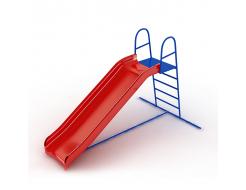 Горка Kidigo пластиковая 2,46х1,2х1,7 м, высота спуска 1,2 м - интернет-магазин tricolor.com.ua