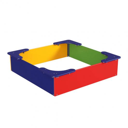 Песочница Kidigo Классик 1,3х1,3х0,32 м - интернет-магазин tricolor.com.ua