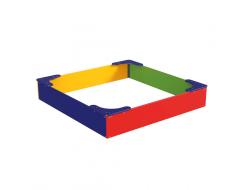 Песочница Kidigo Классик 1,8х1,8х0,32 м - интернет-магазин tricolor.com.ua
