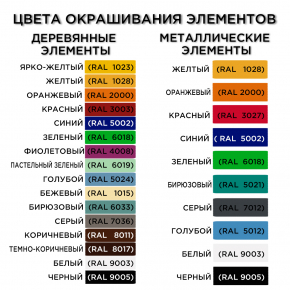 Песочница Kidigo Радуга 2,3х2,3х0,32 м - изображение 2 - интернет-магазин tricolor.com.ua