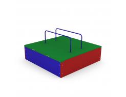Песочница Kidigo Раскладушка 1,2х1,2х0,3 м - изображение 2 - интернет-магазин tricolor.com.ua