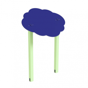 Навес Kidigo для песочницы двойной Тучка 15 дерево 1,5х1,25х1,5 м - интернет-магазин tricolor.com.ua
