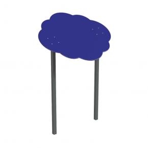 Навес Kidigo для песочницы двойной Тучка 15 металл 1,5х1,25х1,5 м - интернет-магазин tricolor.com.ua