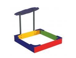Навес Kidigo для песочницы двойной Тучка 15 металл 1,5х1,25х1,5 м - изображение 3 - интернет-магазин tricolor.com.ua