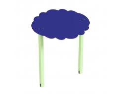 Навес Kidigo для песочницы двойной Тучка 20 дерево 2,0х1,25х1,5 м - интернет-магазин tricolor.com.ua