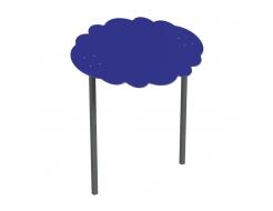 Навес Kidigo для песочницы двойной Тучка 20 металл 2,0х1,25х1,5 м - интернет-магазин tricolor.com.ua