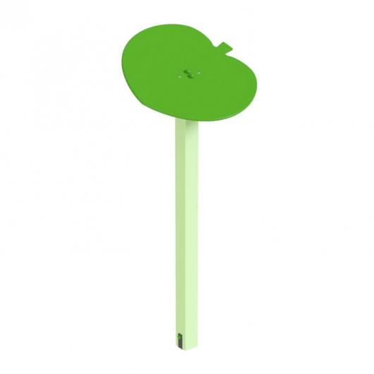 Навес Kidigo для песочницы одинарный Листик дерево 0,9х0,9х1,5 м - интернет-магазин tricolor.com.ua