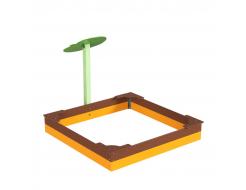 Навес Kidigo для песочницы одинарный Листик дерево 0,9х0,9х1,5 м - изображение 4 - интернет-магазин tricolor.com.ua