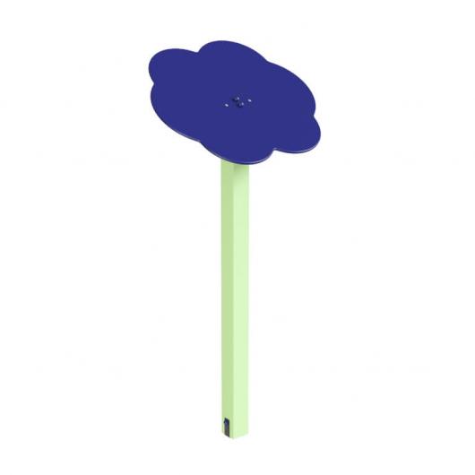 Навес Kidigo для песочницы одинарный Тучка 1 дерево 0,9х0,9х1,5 м - интернет-магазин tricolor.com.ua