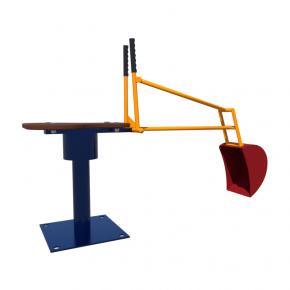 Элемент Kidigo для песочницы Экскаватор 1,0х0,5х0,3 м - интернет-магазин tricolor.com.ua