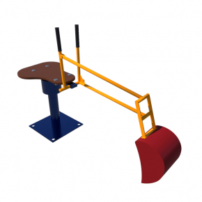 Элемент Kidigo для песочницы Экскаватор 1,0х0,5х0,3 м - изображение 3 - интернет-магазин tricolor.com.ua