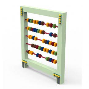 Счеты Kidigo 1,1х0,15х1,3 м диаметр колец 8 см - изображение 2 - интернет-магазин tricolor.com.ua