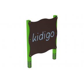 Доска для рисования одинарная Kidigo 1.2х0,12х1,62 м - интернет-магазин tricolor.com.ua