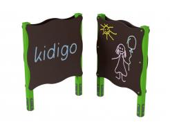 Доска для рисования двухсторонняя Kidigo 1,2х0,13х1,62 м - интернет-магазин tricolor.com.ua