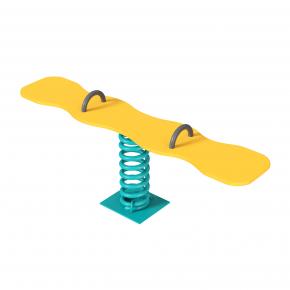 Качалка на пружине Сноуборд Kidigo 1,75х0,44х0,58 м - интернет-магазин tricolor.com.ua