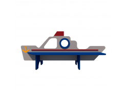 Детская лавка Корабль Kidigo 2,14х0,58х0,88 м - изображение 3 - интернет-магазин tricolor.com.ua