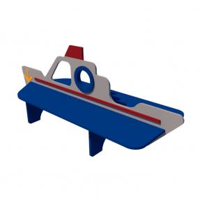 Детская лавка Корабль Kidigo 2,14х0,58х0,88 м - изображение 2 - интернет-магазин tricolor.com.ua