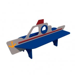 Детская лавка Корабль Kidigo 2,14х0,58х0,88 м - интернет-магазин tricolor.com.ua