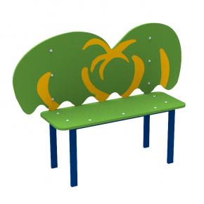 Детская лавка Palma Kidigo 1,2х0,35х0,88 м - интернет-магазин tricolor.com.ua