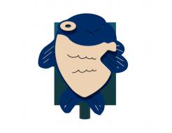 Урна для детской площадки Рыбка Kidigo 0,5х0,5х0,6 м - изображение 3 - интернет-магазин tricolor.com.ua