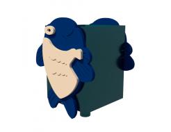 Урна для детской площадки Рыбка Kidigo 0,5х0,5х0,6 м - изображение 4 - интернет-магазин tricolor.com.ua