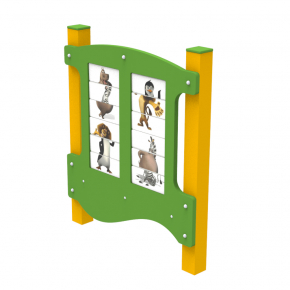 Игровая панель Животные Kidigo 1,3х1,1х0,13 м - изображение 3 - интернет-магазин tricolor.com.ua