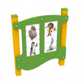 Игровая панель Животные Kidigo 1,3х1,1х0,13 м - изображение 2 - интернет-магазин tricolor.com.ua