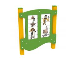 Игровая панель Животные Kidigo 1,3х1,1х0,13 м - интернет-магазин tricolor.com.ua