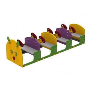 Комплектующее площадки Caterpillar Kidigo 2,1х0,58х0,58 м - интернет-магазин tricolor.com.ua