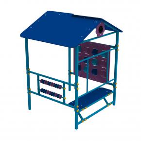 Детский домик Пиксель Kidigo 1,48х1,3х1,83 м - изображение 3 - интернет-магазин tricolor.com.ua