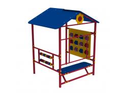 Детский домик Пиксель Kidigo 1,48х1,3х1,83 м - интернет-магазин tricolor.com.ua