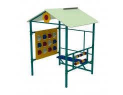 Детский домик Пиксель Kidigo 1,48х1,3х1,83 м - изображение 4 - интернет-магазин tricolor.com.ua