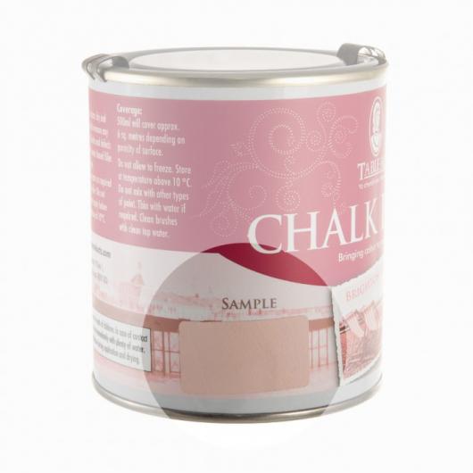 Меловая краска Tableau Chalk Paint Brighton Pink (брайтон розовая) - изображение 2 - интернет-магазин tricolor.com.ua