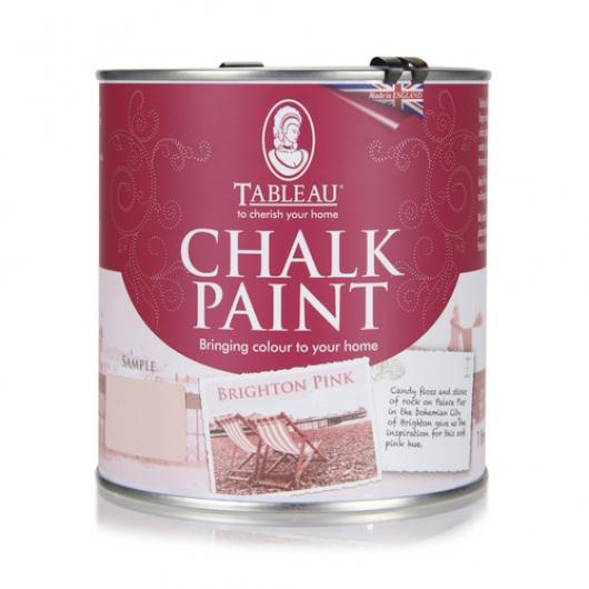 Меловая краска Tableau Chalk Paint Brighton Pink (брайтон розовая) - интернет-магазин tricolor.com.ua