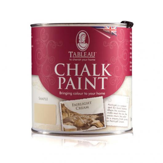 Меловая краска Tableau Chalk Paint Fairlight Cream (фаирлайт кремовая) - интернет-магазин tricolor.com.ua
