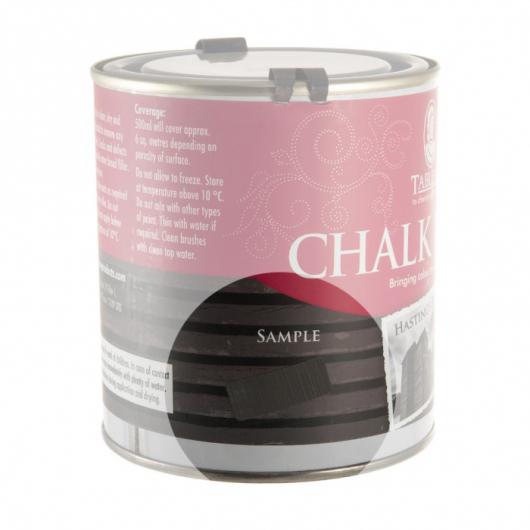 Меловая краска Tableau Chalk Paint Hastings Black (гастингс черная) - изображение 2 - интернет-магазин tricolor.com.ua