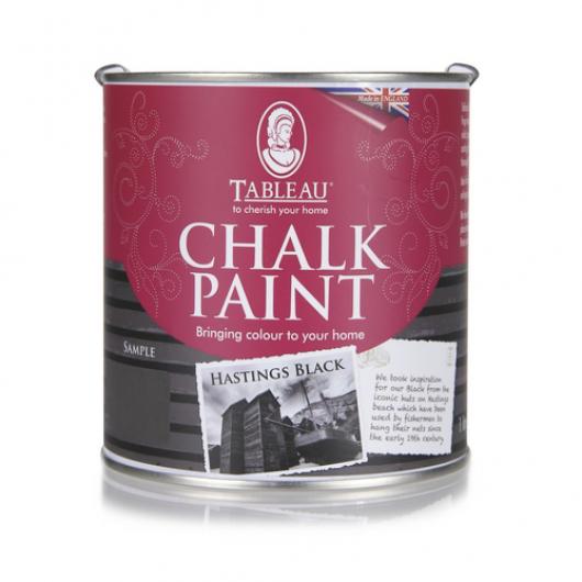 Меловая краска Tableau Chalk Paint Hastings Black (гастингс черная) - интернет-магазин tricolor.com.ua