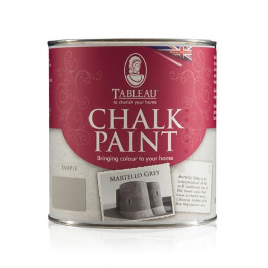 Меловая краска Tableau Chalk Paint Martello Grey (мартелло серая) - интернет-магазин tricolor.com.ua