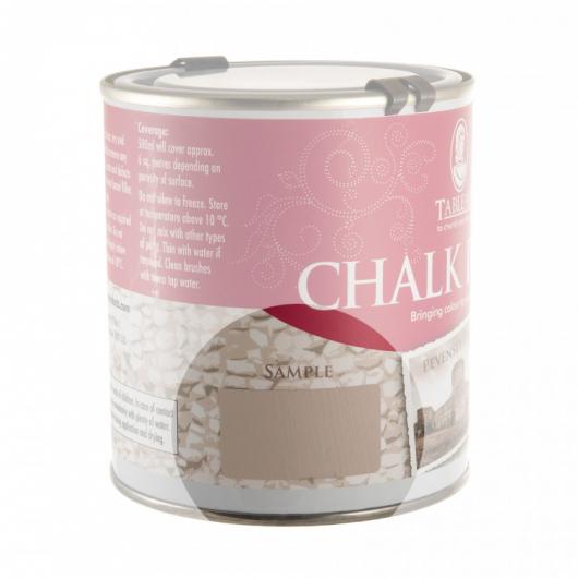 Меловая краска Tableau Chalk Paint Pevensey Grey (певенси серая) - изображение 2 - интернет-магазин tricolor.com.ua