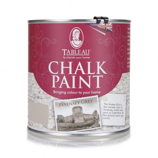 Меловая краска Tableau Chalk Paint Pevensey Grey (певенси серая) - интернет-магазин tricolor.com.ua
