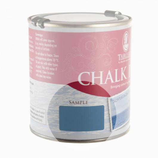 Меловая краска Tableau Chalk Paint Sovereign Blue (суверенный синий) - изображение 2 - интернет-магазин tricolor.com.ua