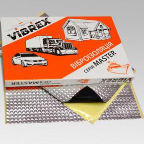 Виброизоляция Vibrex Master лист 1.6 мм 0,35х0,5 м - изображение 2 - интернет-магазин tricolor.com.ua