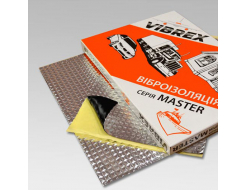 Виброизоляция Vibrex Master лист 3 мм 0,35х0,5 м - изображение 2 - интернет-магазин tricolor.com.ua