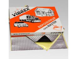 Виброизоляция Vibrex Master Light (на фольге 60 мкм) лист 1.3 мм 0,5х0,7 м - изображение 3 - интернет-магазин tricolor.com.ua