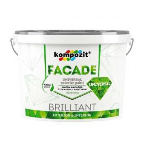 Краска фасадная силиконовая Facade Universal Kompozit
