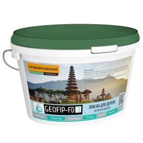 Краска для дерева Geofip-FD3 антигрибковая белая